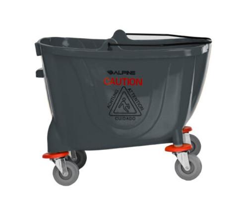 36 Quart Mop Bucket & Side Wringer Combo |  Alpine Industries