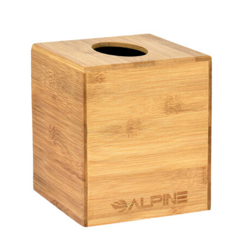 Alpine Industries Bamboo Wooden Tissue Box Cover