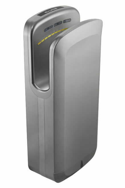 Alpine Industries 220 V High Speed, Commercial Hand Dryer, Grey -TEST-404-20-GRY