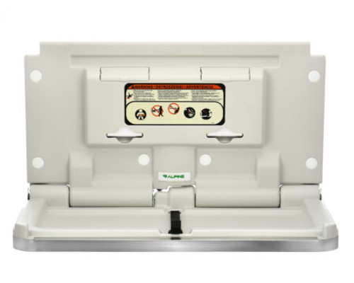 Horizontal Baby Changing Station, Stainless Steel 411-SSB
