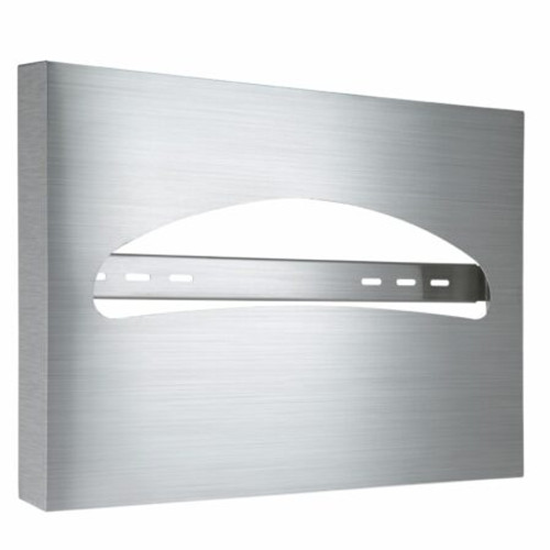 Stainless Steel Brushed Toilet Seat Cover Dispenser - 483