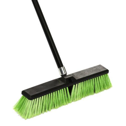 "18"" Multi Surface Push Broom - 460-18-1-3"