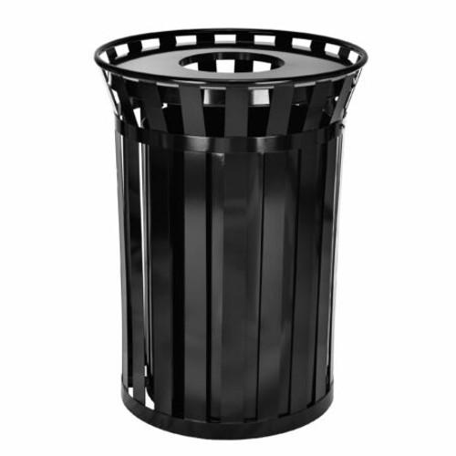 Outdoor Metal Waste Receptacle – 38 Gallon, 479-38
