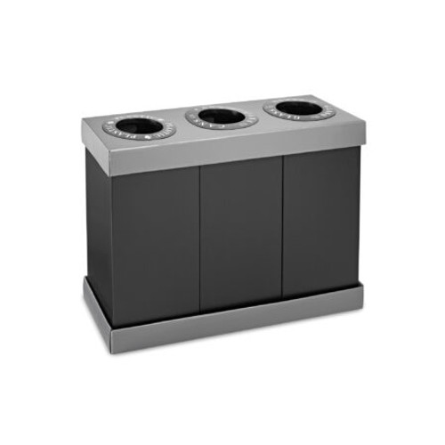 Alpine waste and recycling bins