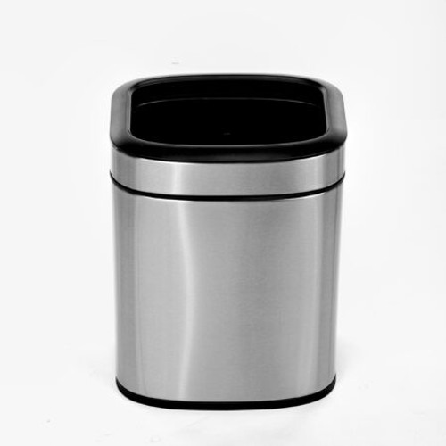 Alpine Industries 1.6 Gallon Stainless Steel Open Trash Can,  470-6L