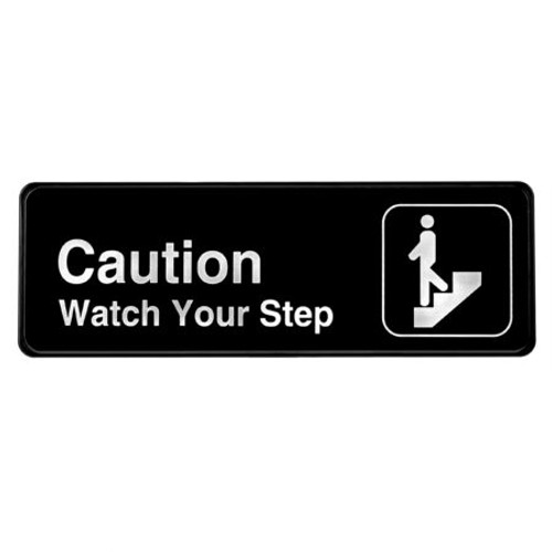 Alpine Industries Caution, Watch Your Step Sign ALPSGN-26