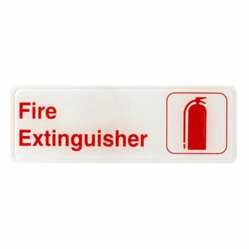 "Alpine Industries 3""X9"" Fire Extinguisher Sign ALPSGN-34"