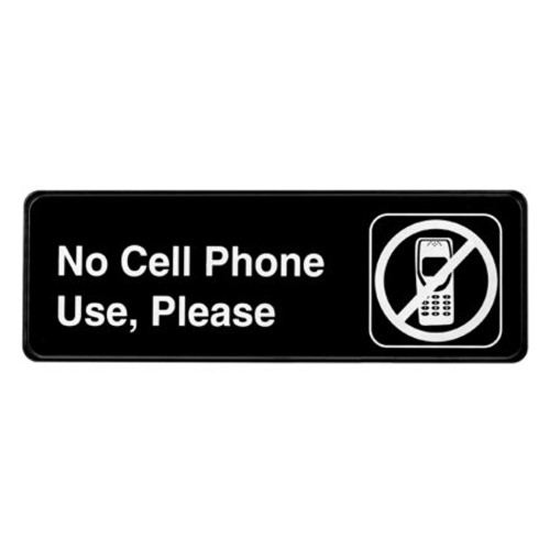 Alpine Industries No Cell Phone Use ALPSGN-27