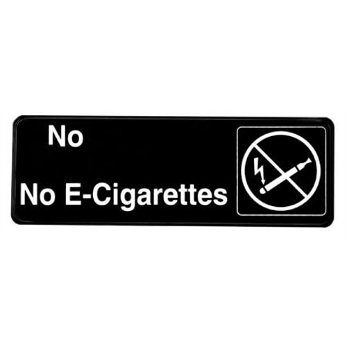 """Alpine Industries 3""""X9"""" No-E Cigarettes Sign ALPSGN-17"""
