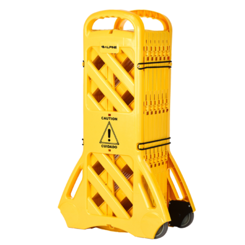 13 Foot Expandable Mobile Safety Barricade Fence - ALP499-BAR
