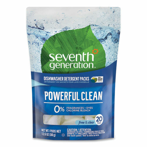 Seventh Generation Natural Dishwasher Detergent Concentrated Packs