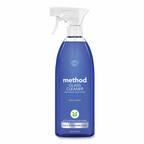 Method Glass and Surface Cleaner, Mint Scent, 28 oz Spray Bottle