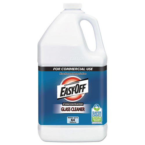 Easyoff Glass Cleaner Concentrate 1 gallon bottle