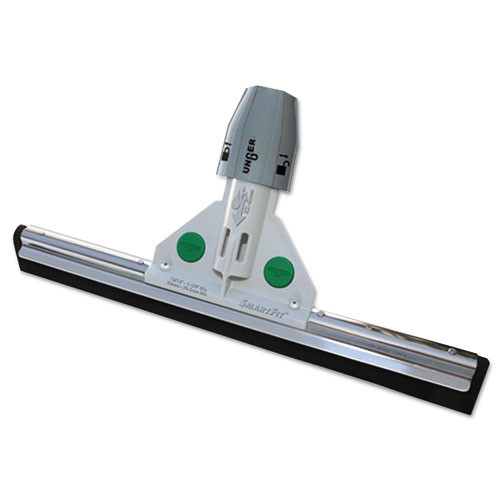 Unger Heavy Duty Water Wand Squeegee with Socket and Twin Foam Rubber Blades