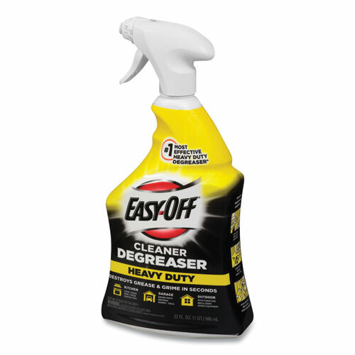 Easy Off Heavy Duty Degreaser, Original Scent, 32 Oz Spray Bottle