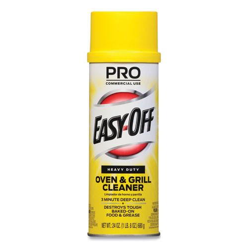 Easy Off  Heavy Duty 24 Oz Aerosol Spray Owen and Grill Cleaner