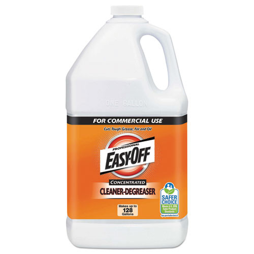 Easy Off 1 Gallon Heavy Cleaner Degreaser Concentrate Bottle