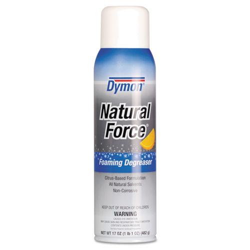 Dymon Natural Force Foaming Degreaser, 17 Oz, Citrus Scent, Aerosol Spray