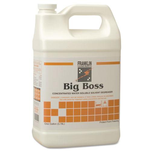 Franklin Big Boss Concentrated Degreaser, Sassafras Scent, 1 Gallon Bottle, Case of 4
