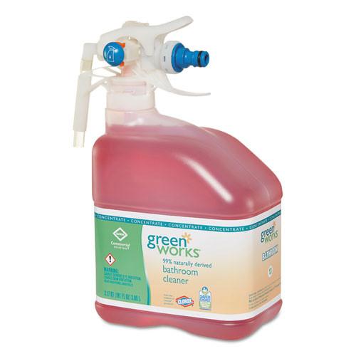 Green Works Bathroom Cleaner Concentrate, Original Scent, 101 oz Bottle