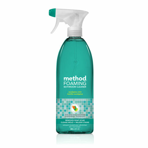 Method Tub 'N Tile Bathroom Cleaner, Eucalyptus Mint Scent, 28 oz Spray Bottle