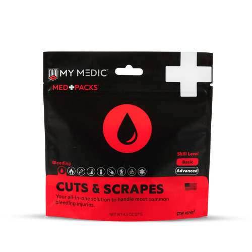 MyMedic Cuts and Scrapes Med Pack - MM-MD+PK-BLD-C&S