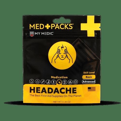 MyMedic Headache Med Pack - MM-KIT-S-MD-PK-HD-AC-EA