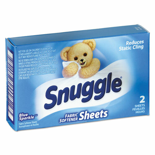 Snuggle Vend-Design Fabric Softener Sheets, Blue Sparkle Scent VEN2979929