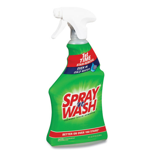 Spray wash Cold Water Stain Remover, Unscented, 22 oz Spray Bottle