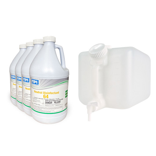 ND64 Commercial Disinfectant Concentrate with 5 Gal EZ Fill Container (7576-MC120575-4)