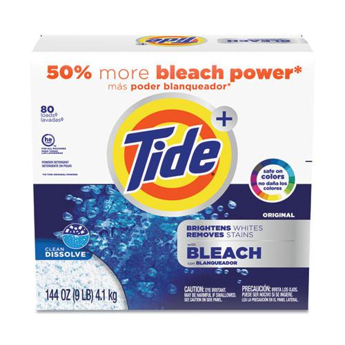 Tide Laundry Detergent with Bleach, Original Scent Powder