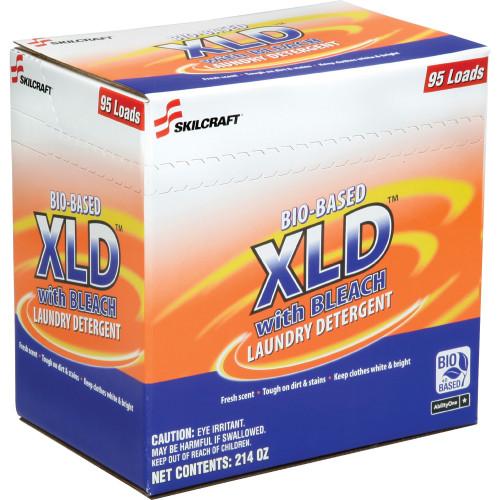 Skilcraft Bio-based XLD Laundry Bleach Detergent Powder Fresh Scent, 214 Oz