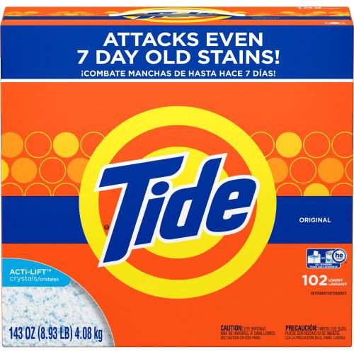 Tide Original Laundry Detergent, Original Scent Powder, 143 oz Box  - 85006