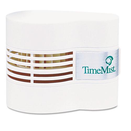 TimeMist TMS1044385 Continuous Fan Fragrance Dispenser, White