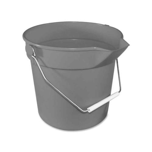 Impact Deluxe Heavy-Duty Bucket, Grey, 10 Quart
