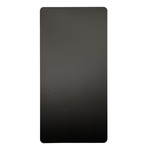 Excel Dryer Anti-Microbial Wall Guard, Black, 89-W, Front