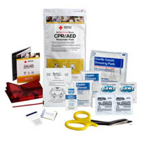 First Aid Only CPR/AED Defibrillator Responder Pack