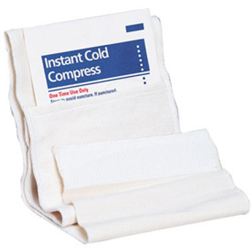 First Aid Only Securing Wrap for Cold Compress or Ice, M622 (12 wraps/box)