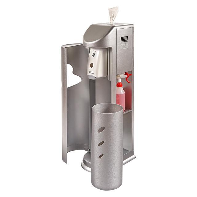 Zogics Cleaning Station Wipes Dispenser + Hand Sanitizing Station