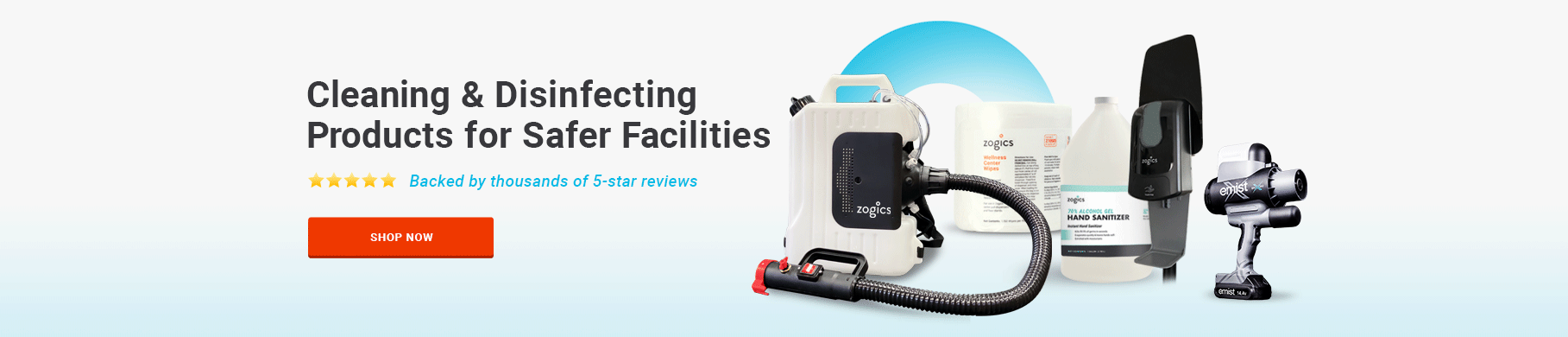 The leaders in facility cleaning, disinfecting, and sanitizing