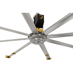 Big Ass Fans® Powerfoil x3.0 with Ion Technology