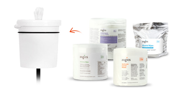 Shop Zogics Wipes for the Bucket Stand Wipes Dispenser