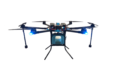 Disinfecting Drones
