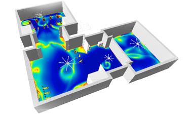 3D airflow analysis