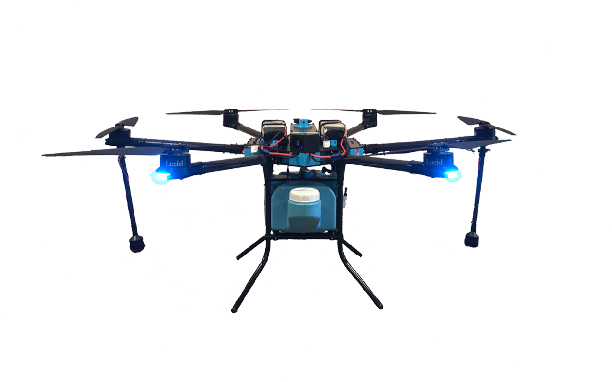 D1 Disinfecting Drone from Lucid Drone Technologies