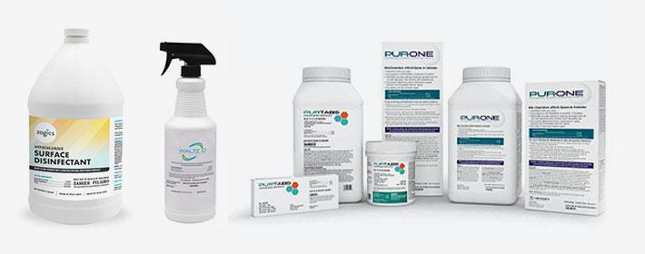 Hypochlorous acid disinfectants