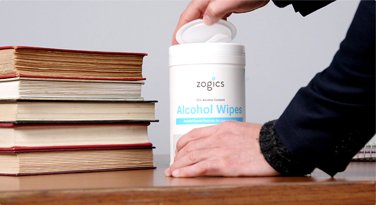 School cleaning and disinfecting by Zogics