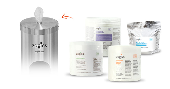 Shop Zogics Wipes for the Single Canister Wipes Dispenser