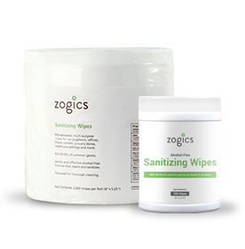 Zogics Sanitizing Wipes