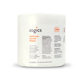 Zogics Wellness Center Wipes